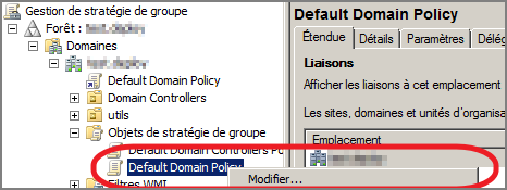 default domain policy